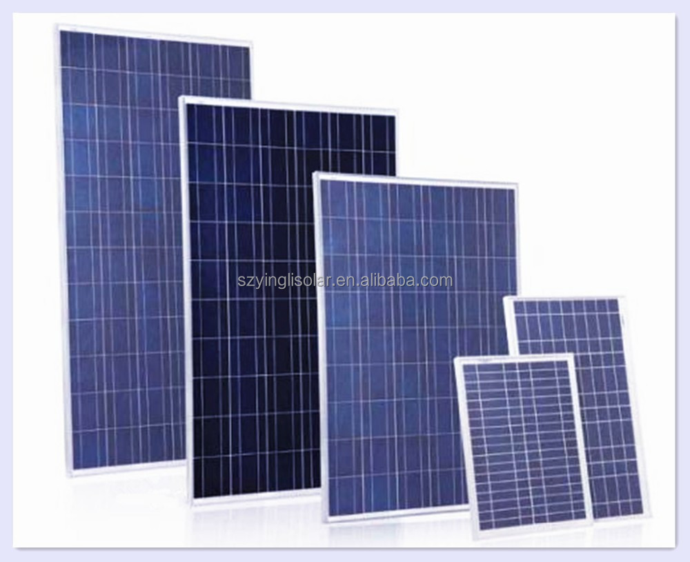 Solar panel 100W 110W 120W 18v PV Module Poly Solar panel for water pump