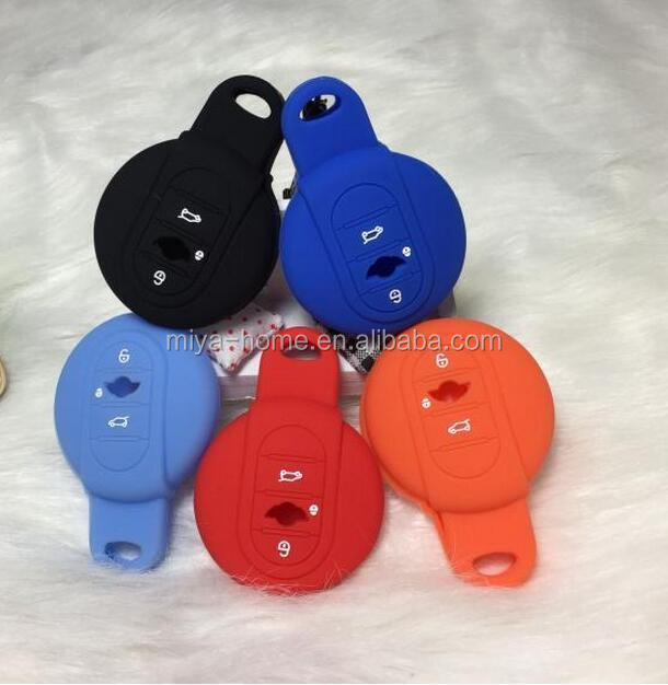 High quality Silicone smart car key protector case cover / smart car key case
