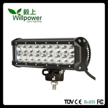 "9"" 54W car Led Light Bar 5400lm spotlights Beam for car Offroad 4WD Pick up trucks SUV 4WD"