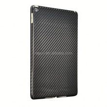 OEM 3k twill wave glossy carbon fiber for ipad 6 64gb back cover
