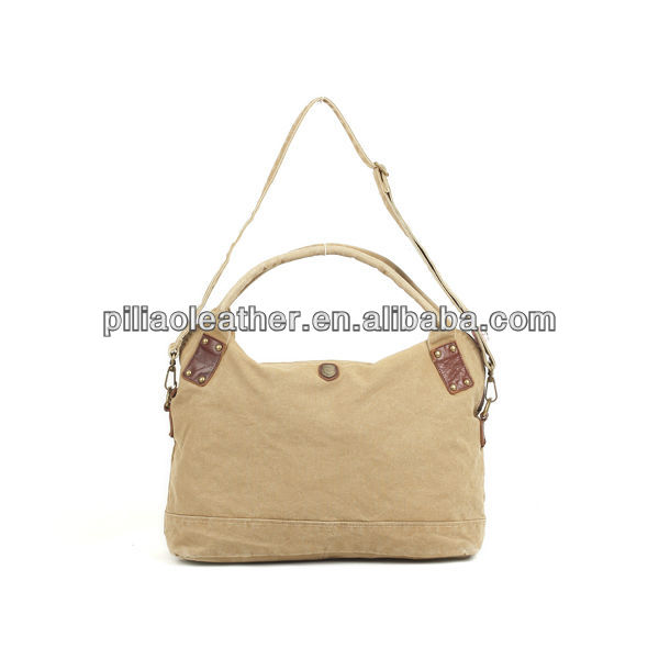2013 High Quality Canvas Tote Bag/Stone Washed Vintage Canvas Handbag Shoulder Bag For Women