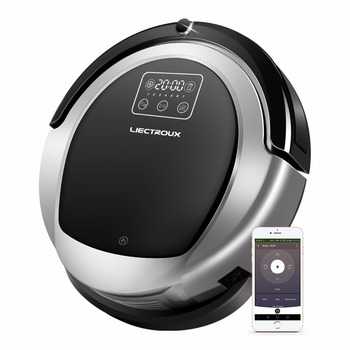 WIFI APP, 2D Map Navigation & Smart Memory Robot Vacuum Cleaner B6009