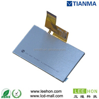 TIANMA tm043ndh02 4.3 inch tft lcd module with wide screen wled backlight for portable DVD