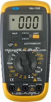 YH1102 Handheld Digital Multimeters for Testing 12v Battery multimeters