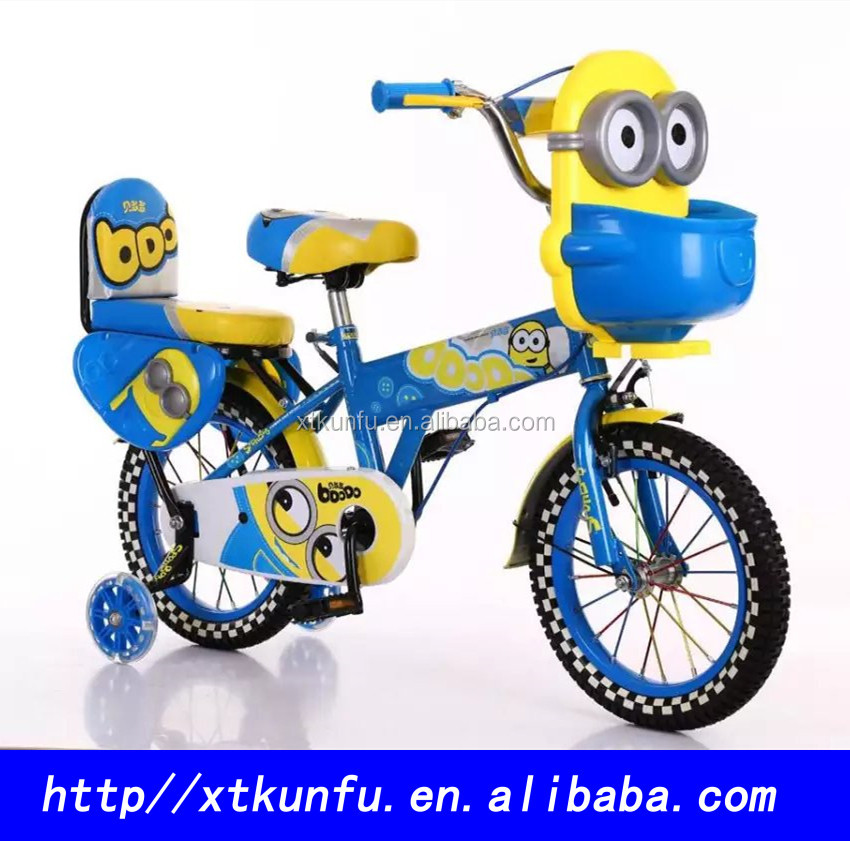 "12""Wheel Size and Steel Fork Material cheap cartoon kids bicycle for sale"
