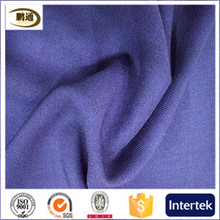 Wholesale double colors cloth twill fabric imitate linen stretch textile