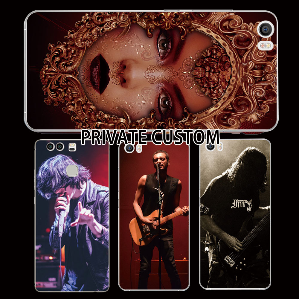 Rock Band Fans Back Case For redmi note Wholesale 3D custom printed rock phone case
