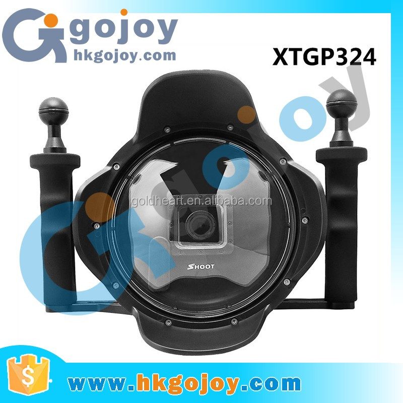 2016 NEW SHOOT 6 inch for Go Pro Dome with Handheld Stabilizer for Go Pro
