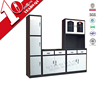 2015 popular MDF kitchen cabinet for project/steel kitchen furniture