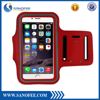 "Waterproof running armband case pouch for smartphone, fitness universal armband 4.7"",5.5"" with key holder"