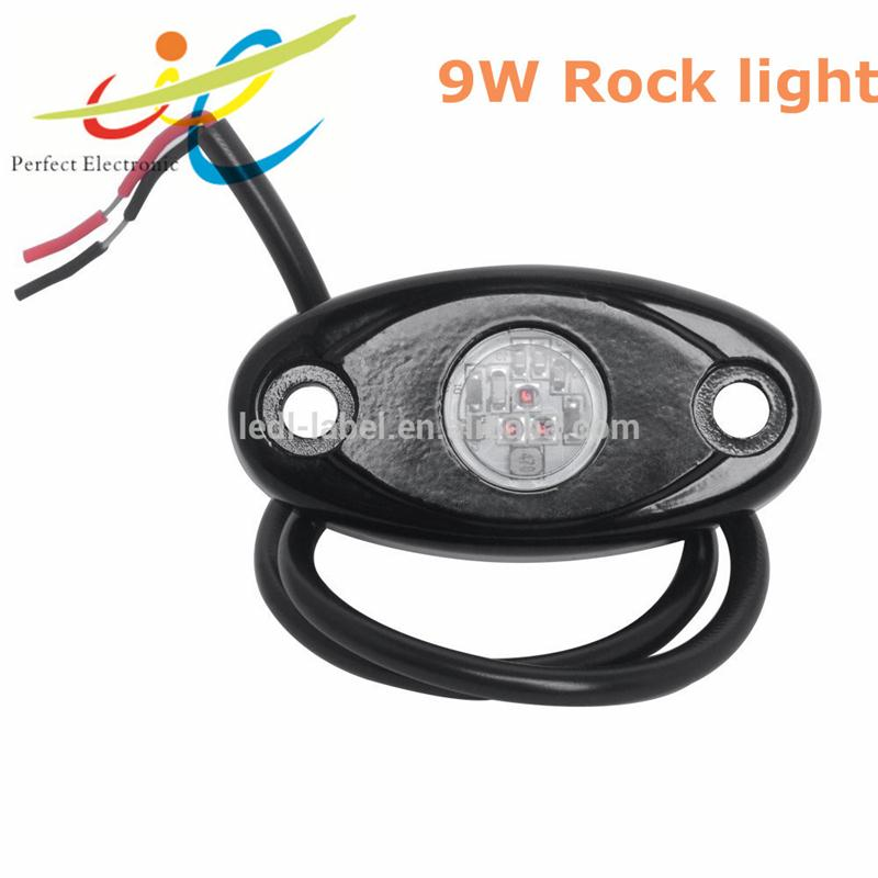 9W CREE Flush Mount Rock Light