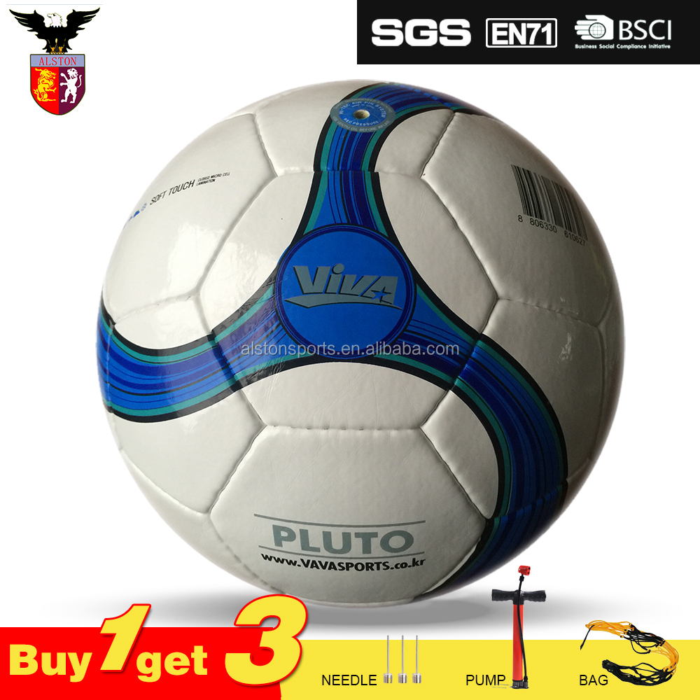 soccer ball size 5 hand Stitched balls