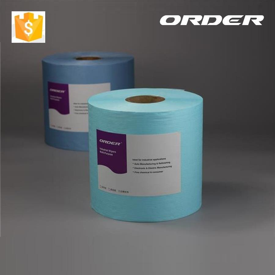 ORDER X-70 Jumbo Roll Spunlance Nonwoven Industrial Cleaning cloths