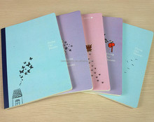 2017 A5 school exercise book printing, cheap textbook printing factory in China