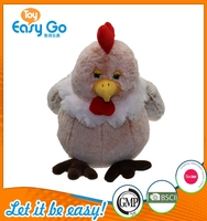 OEKO sedex rich plush chicken simulation soft hen toys
