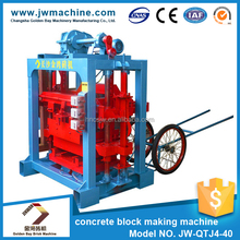 Factory directly selling 9.5KW 380V concrete laying hollow block machine