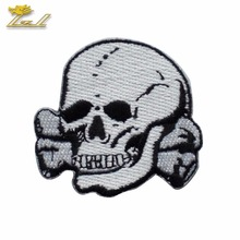 Custom patch With the skull patch Iiron on embroidery patch