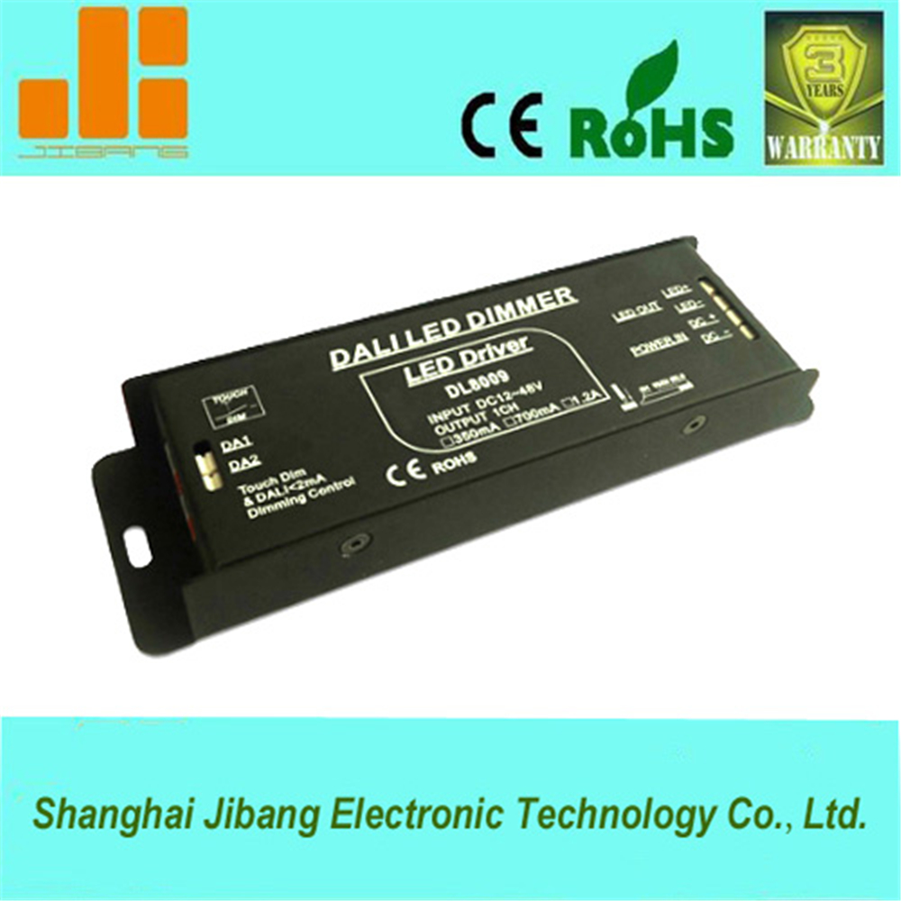 Best selling !DALI&Touch Dimmer,1CH, DALI dimmer LED driver ( Constant Current 12~48VDC,MAX Output 12W ,350mA )