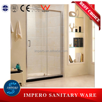 6mm clear glass pivot folding doors shower enclosure,shower cabin glass shower door