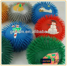 Holiday promotional puffer ball