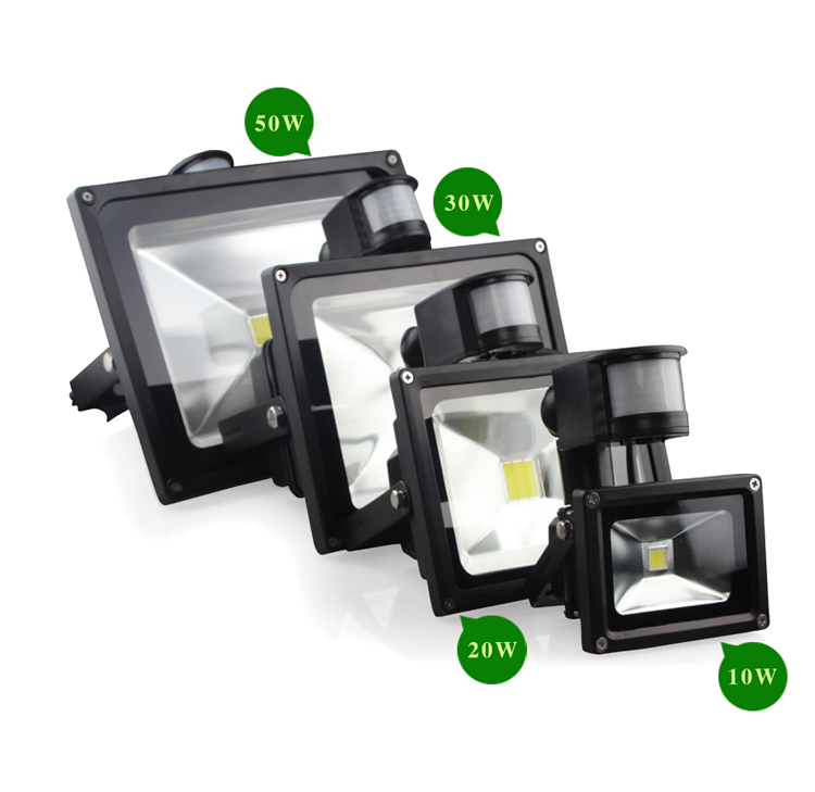 focus light from China pir 50watt 12v stainless steel led flood light