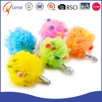 high quality PE artificial natural mesh bath sponge
