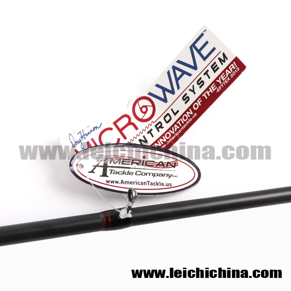 High quality carbon im8 one section casting fishing rod for American fishing tackle company