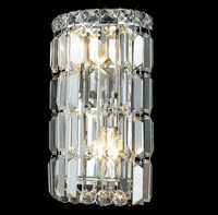Contemporary style crystal decorative wall lamp