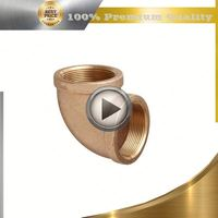 brass pvc conduit pipe fitting 90 degree elbow