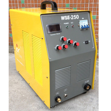 3PH380V AC/DC INVERTER HF PULSE TIG WELDING MACHINE WSE-250 Aluminium welder