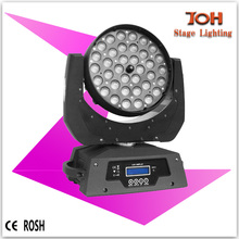 36x10 led moving head wash zoom,led moving head light,4 in 1 RGBW mini moving head with zoom
