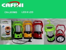 solar camping lights ,Plastic led camping lights, rechargeable camping lantern