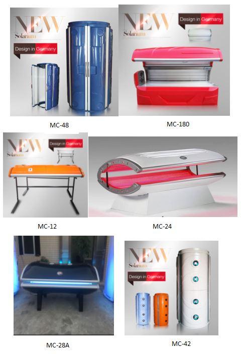 solarium vertical led tanning bed