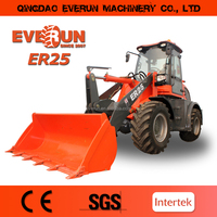 Everun brand mini wheel loader,
