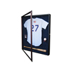 Hot Sale UV Basketball Football Hockey Jersey Frame Display Case Shadow Box Solid Wood Custom Photo Frame