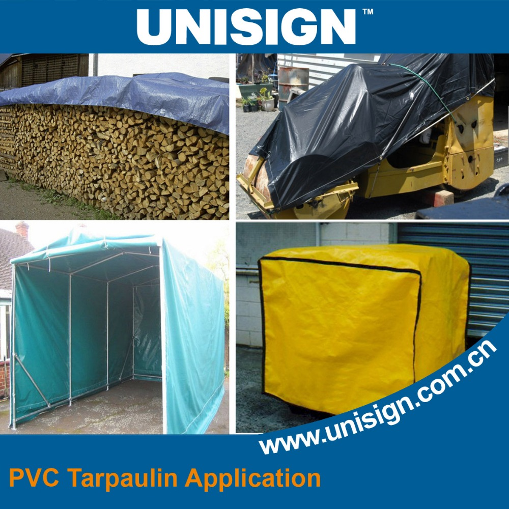 Unisign Water proof Durable truck cover PVC Fabric Tarpaulin