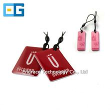 Latest product in China of passive NFC epoxy tag sticker 13.56mhz adhesive RFID tag