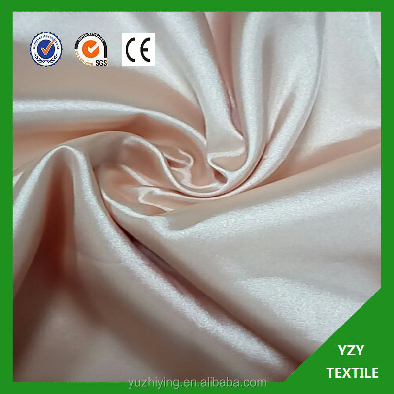 twisted satin lining satin fabric samples for dress /garment