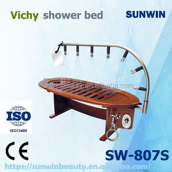 Chinese wholesale and factory experience hydro massage shower spa equipment water shower table for sale