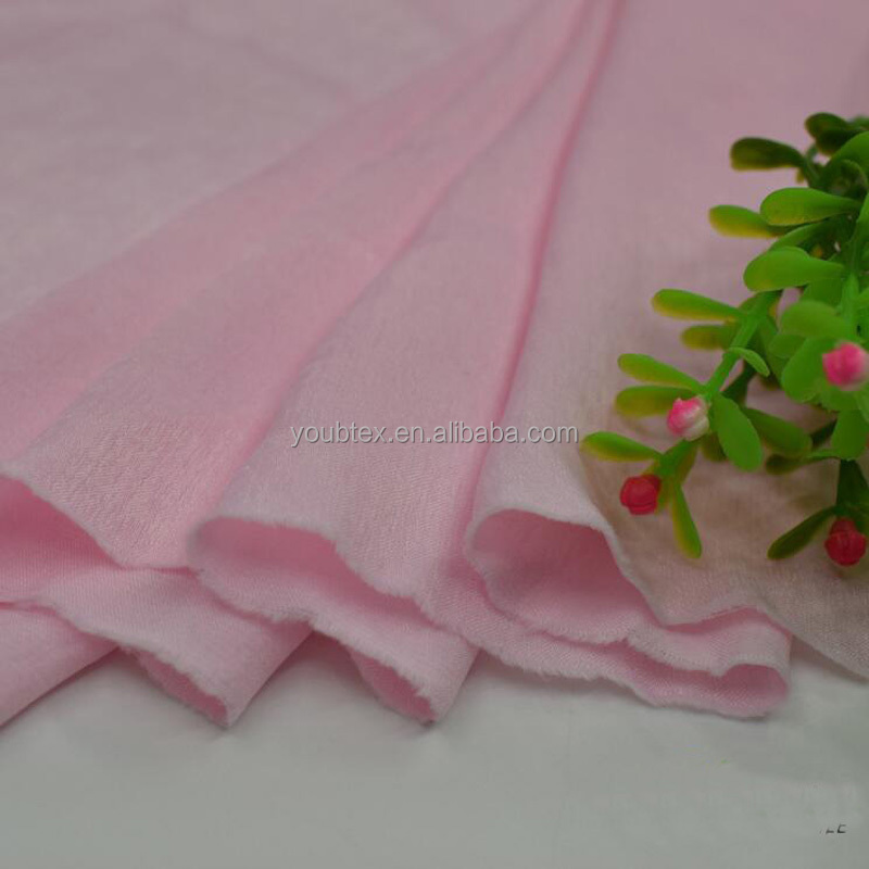 Fast shipping 65 colors shiny cheap crepe back satin fabric
