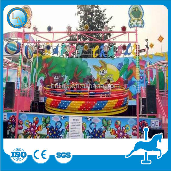 Whirligig amusement park machine disco flying tagada ride for sale