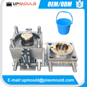 customization design plastic bucket mould injection molding