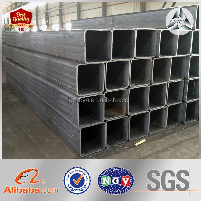 Steel Structure Building HDGI Square Tube Black Black Carbon Square Steel Tubular for Sale Square Steel Tube