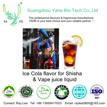 Flavor factory direct sale Ice Cola flavour high concentrated liquid for hookah shisha vape juice flavor DIY making