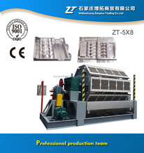 Rotary Egg Tray Machine / Pulp Moulding Tray Equipment with 6 Layer Drying Line