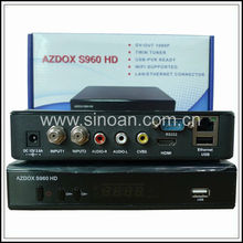 WiFi Internet TV Receiver Box Azdox S960 Azvox S940