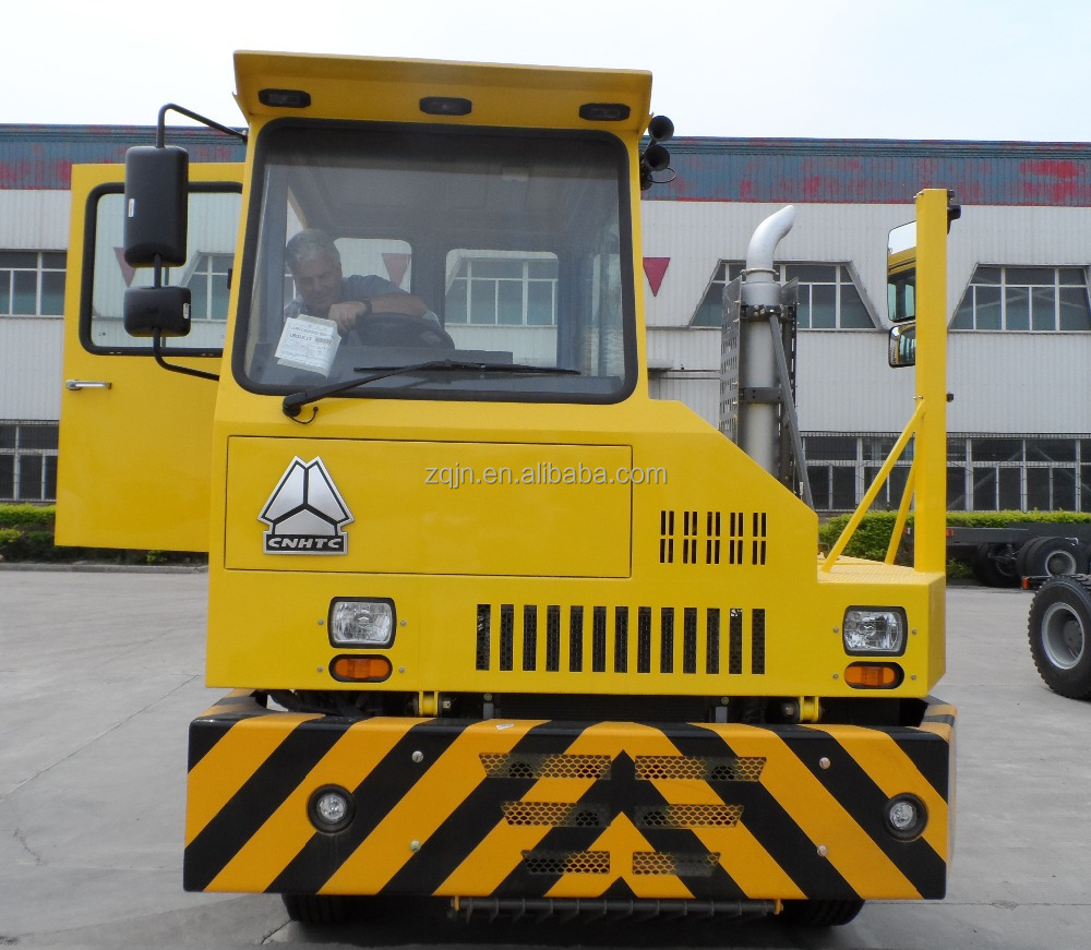most competitive HOWO terminal TRACTOR/towing truck USED IN AIRPORT DOCKs harbors LOGISTICS PARKS