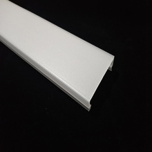 Bi-color extrusion polycarbonate plastic frosted cover for led lamp