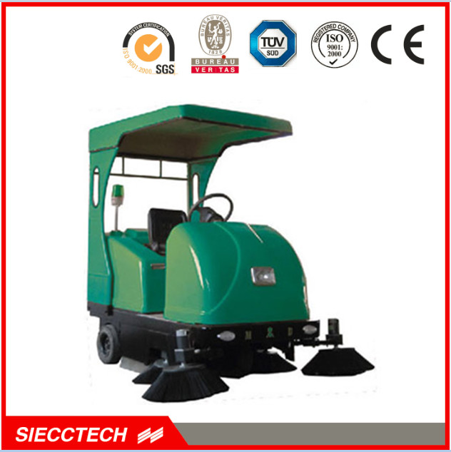 SIECC-E800 Vacuum street sweeper/road cleaning truck/electric wet floor cleaner/road sweeper