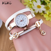 >>>New Fashion Women Dress Watches Luxury Love Leather Wrap Bracelet Watches
